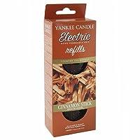 Ricarica da utilizzare con diffusori Yankee Candle, confezione composta da 2 bottiglie da 18.5ml, profumazione Cinnamon Stick.