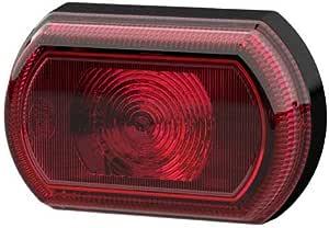 Hella 2sa 013 323 021 Schlussleuchte Shapeline Tech Small Led 12v 24v Lichtscheibenfarbe Rot Geklebt Kabel 250mm Einbauort Hinten Links Hinten Rechts Auto