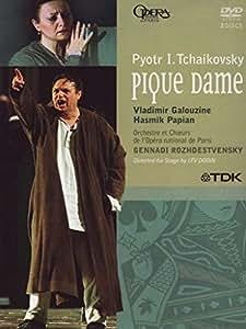 Tchaikovski - La Dame de Pique/Papian, Galouzine, Tézier, Stotijn, Rojdestvenski, Dodine (Opéra national de Paris 1999)