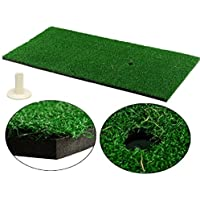 LL-Golf® Golf apisonar café 60 x 30 cm/practice driving mat /Entrenamiento Ejercicio Matte