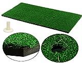 LL-Golf ® Golf Abschlagmatte 60x30 cm / Übungsmatte / Training Übung Matte inkl. gummi Tee