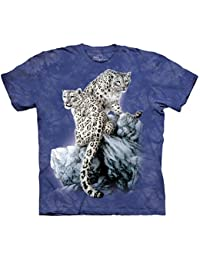 The Mountain - - Hommes High On Top T-shirt, X-Large, Multi