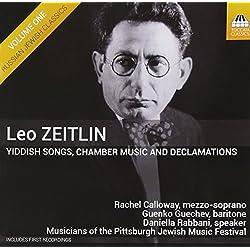 Jiddische Lieder,Kammermusik und Vorträge