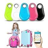 Key Finder, Smart Tag GPS Tracker Wireless Bluetooth Anti-Lost Alarm Key Finder, Anti-perdita Portachiavi Sensore di allarme Sensore wireless Telecomando Selfie, per Cani, Bambini, Gatti, Bagagli