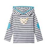 Steiff Sweatshirt mit Streifen und Quietscher, Grau (QUARRY 9007),104