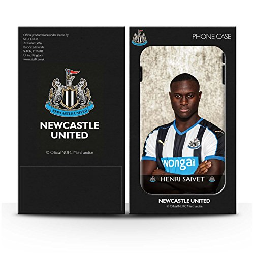 Officiel Newcastle United FC Coque / Etui pour Apple iPhone 7 / Townsend Design / NUFC Joueur Football 15/16 Collection Saivet