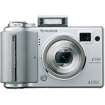 Fujifilm FinePix E500 - Appareil photo numérique - compact - 4.1 Mpix - zoom optique : 3.2 x - mémoire prise en charge : xD, xD Type H, xD Type M