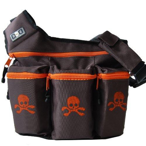 diaper-dude-900s-brown-orange-skull-cross-bones-bag