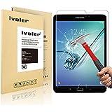 Samsung Galaxy Tab S2 8.0'' (SM-T710 / SM-T715) Protector de Pantalla Cristal, iVoler® Film Protector de Pantalla de Vidrio Templado Tempered Glass Screen Protector para Samsung Galaxy Tab S2 8.0'' (SM-T710 / SM-T715) - Dureza de Grado 9H, Espesor 0,30 mm, 2.5D Round Edge-[Ultra-trasparente] [Anti-golpe] [Ajuste Perfecto] [No hay Burbujas]- Garantía Incondicional de 18 Meses