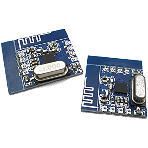 Il numero di dispositivi wireless NRF24L01+ perno di supporto di modulo e di chip