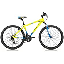 Monty KY8 Bicicleta, Unisex Adulto, Amarillo, XS