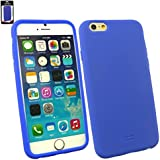 "Emartbuy® Apple Iphone 6 6G 6S 4.7 "" Zoll Silicon Hülle Schutzhülle Case Cover Dark Blau"