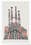 JUNIQE® Poster 40x60cm Barcelona - Design