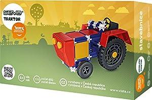 Vista Vista0301-5 Seva Tractor - Set de construcción (115 Piezas)