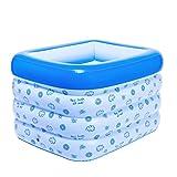 HYSH Baby-aufblasbares Pool-Baby-aufblasbares Pool-Kind-aufblasbare aufblasbare Badewanne