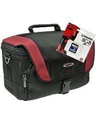 Cámara de fotos funda Xtreme M Set 8GB SD tarjeta para Nikon D7200D600D500D5500D5300D3300D3200