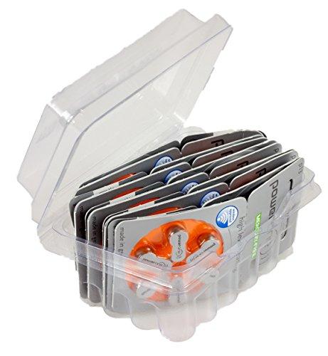 Powerone Typ 13 P13 PR48 ZL2 Hörgerätebatterie Mercury Free Zinc Air im Big Box Pack von wns-emg-world, 60 Stück