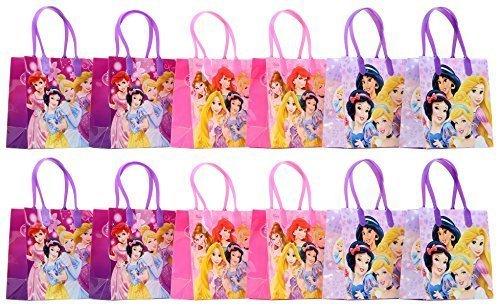 Disney Princess Party Favor Goodie Gift Bag - 6 Small Size (12 Packs) by Disney Princess