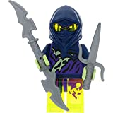 LEGO Ninjago Minifigur Ghost Ninja Attila aus Set 70738 Final Flight of Destiny's Bounty incl. 2 GALAXYARMS Waffen