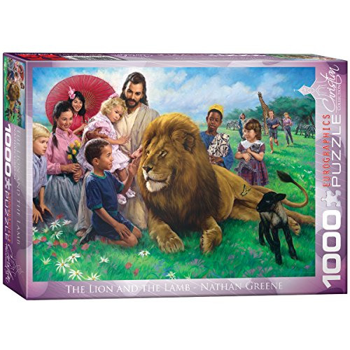 greene-the-lion-and-lamb-1000-pc-puzzle
