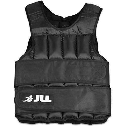 JLL® Weight Vest -10kg, 15kg, 20kg, 25kg, 30kg, Adjustable Weighted Vest Weight Loss Running Gym Training (10 Kilograms)