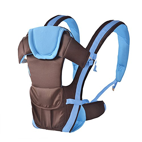 Candora performance 3in 1Baby Carrier con hip sedile e hood-back carrier-position vettore