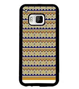 PrintDhaba Yellow Key D-1002 Back Case Cover for HTC ONE M9S (Multi-Coloured)