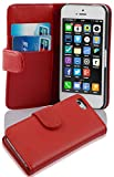 Cadorabo Apple iPhone 5C Etui de Protection LISSE en ROUGE CERISE – Coque...