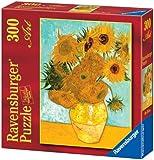 Ravensburger 14006 - Van Gogh Vaso di Girasoli - Puzzle 300 pezzi Art Collection