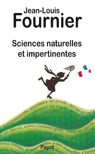 Sciences naturelles appliquées impertinentes