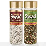 #3: Panjon Swad Mouth Freshener White Sweet Saunf and Shahi Navratan Mix, 110g (Pack of 2)