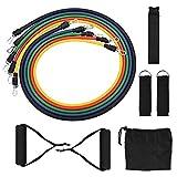 Clode 5 Bandes élastiques de résistance Physique en Alliage élastique avec Accessoires complets