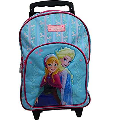 Spielwaren-Klee-Eisknigin-ELSA-Trolley-Koffer-Kinderkoffer-Rucksack-Disney-Frozen-2-TLG-Set