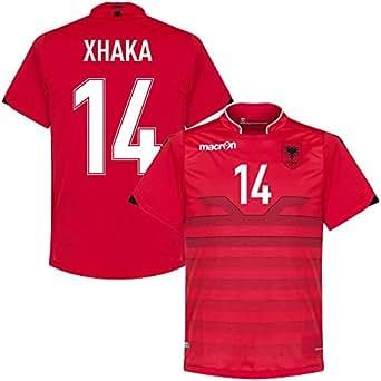 Albanien Home Trikot 2016 2017 Xhaka 14 (Fan Style)
