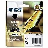 Epson original - Epson Workforce WF-2650 DWF (16 / C13T16214022) - Tintenpatrone schwarz - 175 Seiten - 5,4ml