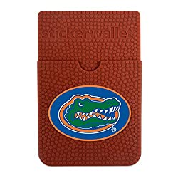 NCAA Florida Gators Sticker Wallet, Brown