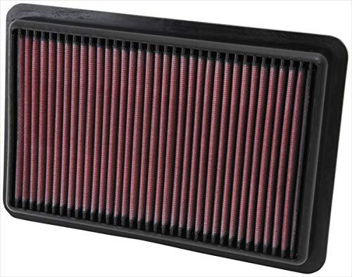 K&N 33-2480 KFZ Tauschluftfilter (Mazda 5 Luftfilter)