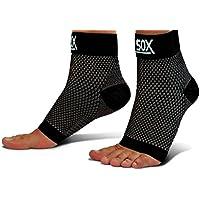 SB Sox tobilleras de compresión para hombres y mujeres–fascitis Plantar de grado médico calcetines para uso diario con arco apoyo–facilita la hinchazón, alivia el dolor, mejora la circulación. Incluye E-Book.