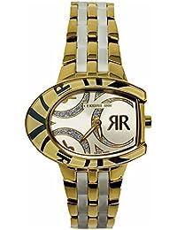 Cerruti 1881Lady reloj 32x 25mm Dos Tono Oro y Blanco Cerámica