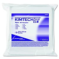 Kimberly-Clark Kimtech 33390 Pure Disposable Wiper with W4 Dry, 9