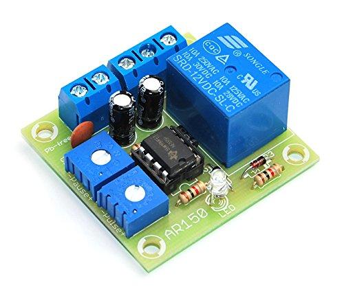 ArliKits AR150M Timer mit Relais Modul Zeitschalter Intervalltimer Blinklicht LED-Anzeige Zeitsteuerung -