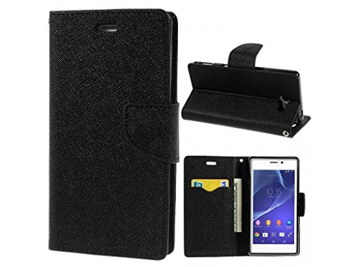 Sun Tigers Fancy Diary Wallet Flip Cover for Micromax Canvas Nitro A311 (Black)