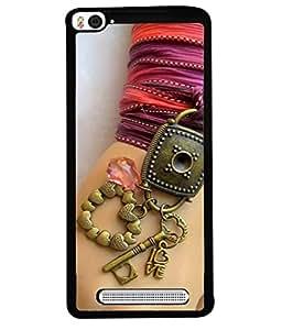 FIOBS A girl hand with a keychain Designer Back Case Cover for Xiaomi Mi 4i :: Xiaomi Redmi Mi 4i