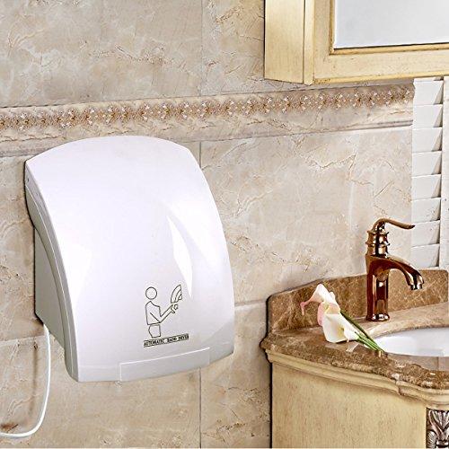 COSTWAY Elektrischer Händetrockner Handtrockner Händefön Trockner Wandmontage Badezimmer 2000W