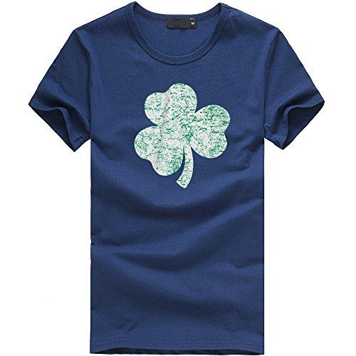 att Tees Shirt Kurzarm T-Shirt Bluse St Patricks Day Kostüm Sommer Shirt ()