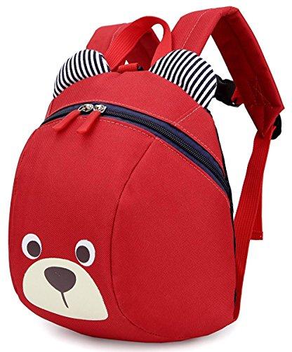 Imagen de  infantil cuerdas mascotas bebe niña animales barata guarderia saco zoo perro oso rojo 1 3año
