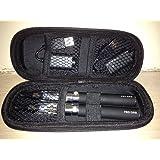 kit doppio eGo-T sigaretta elettronica CE4, evaporatore da 1,6 ml 650 MAH, senza nicotina né tabacco