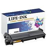 LIFE INK XXL Toner 10.000 Seiten ersetzt Brother TN-2220, TN2220, TN 2010, TN2010 für Brother DCP-7055 W, DCP-7057, DCP-7060, DCP-7065, DCP-7070, Fax 2840, Fax 2845, Fax 2940, Fax 2950, HL-2130, HL-2132, HL-2135, HL-2215, HL-2220, HL-2230, HL-2240, HL-2250, HL-2270,HL-2275, HL-2280, MFC-7360, MFC-7460, MFC-7470, MFC-7860 Drucker schwarz
