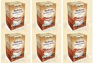 Lot de 6 paquets de thé Yogi- Org Bedtime Rooibos Vanille