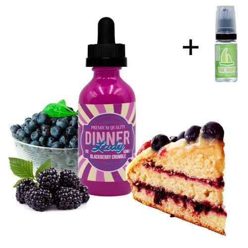 E Liquid Dinner Lady Blackberry Crumble 50ml - 70vg